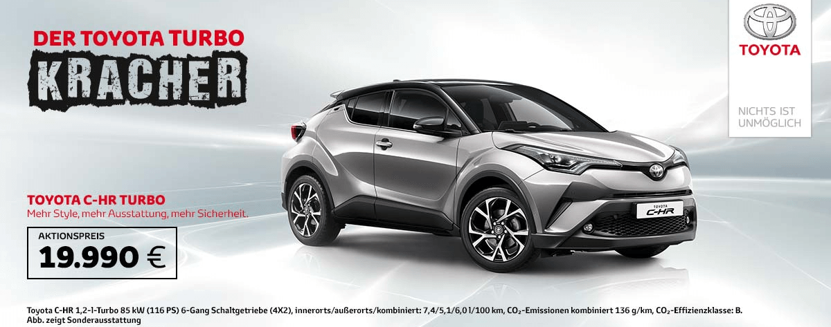 C-HR Turbokracher